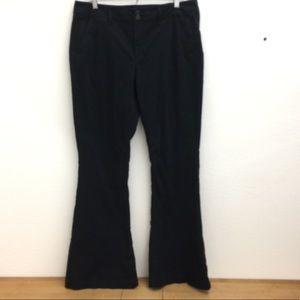 American Eagle 🦅 Black Flare Pants #032101